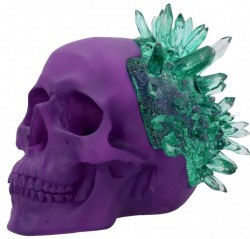 Picture of Emerald Crystal Skull Ornament