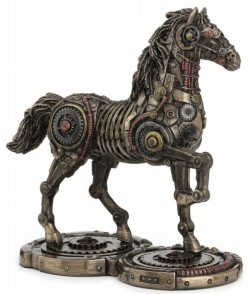 Picture of Steampunk Horse Bronze Figurine