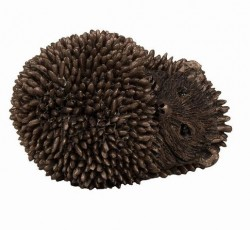 Picture of Dizzy Hoglet Sleeping Bronze Figurine SMALL hedgehog (Thomas Meadows) FRITH MINIMA