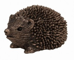 Picture of Prickly Hoglet Walking Bronze Figurine SMALL hedgehog (Thomas Meadows) FRITH MINIMA