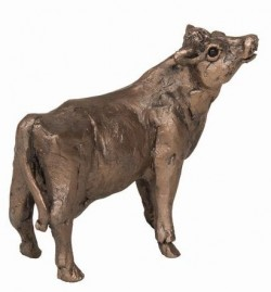Picture of Buttercup Cow Standing Bronze Figurine SMALL (Thomas Meadows) FRITH MINIMA