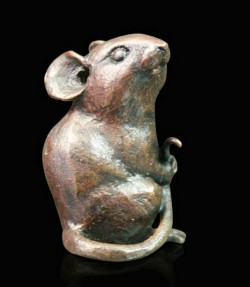 Picture of Mouse SMALL Bronze Figurine (Limited Edition) Michael Simpson