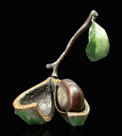Picture of Conker Removable Conker Bronze Sculpture (Limited Edition) Michael Simpson Nature Trail