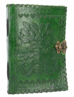 Picture of Greenman Leather Journal and Lock 25 x 18cm