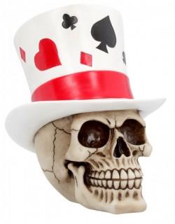 Picture of Casino Jack Skull Ornament 20 cm