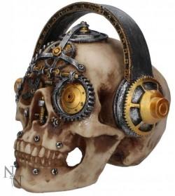 Picture of Techno Talk Steampunk Skull Ornament Large 19 cm