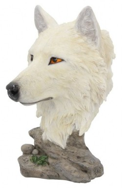 Picture of Snow Wolf Bust 16 cm
