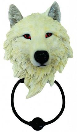 Picture of Snow Wolf Door Knocker