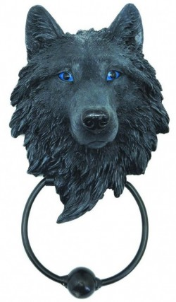 Picture of Guardian Wolf Door Knocker