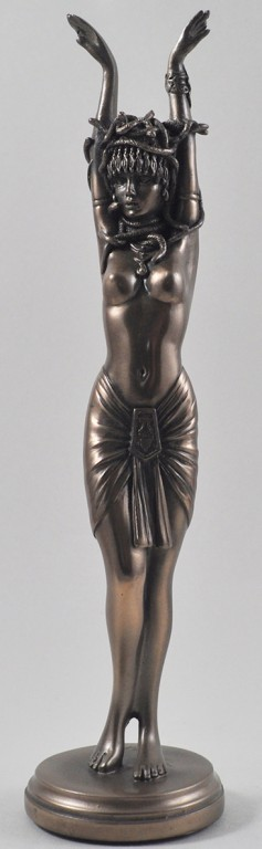 Picture of Medusa Bronze Figurine 26 cm