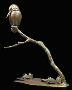 Picture of Autumn Breeze Kingfisher Bronze Figurine (Limited Edition) Michael Simpson
