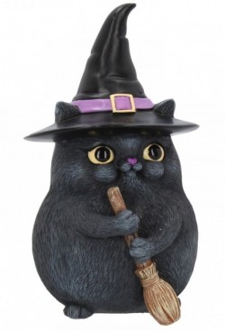 Picture of Lucky Black Cat Figurine