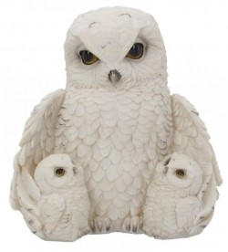 Picture of Owl Family Figurine
