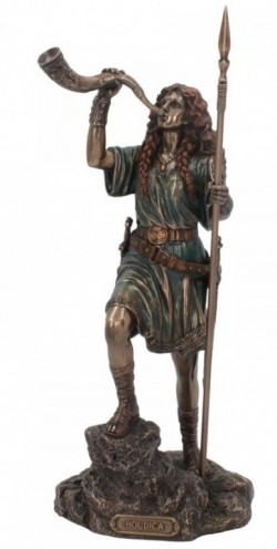 Picture of Queen Boudica Bronze Figurine 28 cm