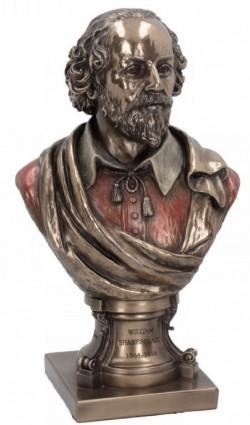Picture of William Shakespeare Bronze Figurine 23cm