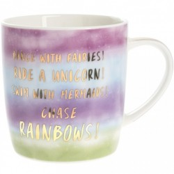 Picture of Dance with Fairies Chase Rainbows Mug