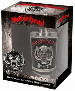 Picture of Motorhead Shot Glass Officially Licensed Merchandise