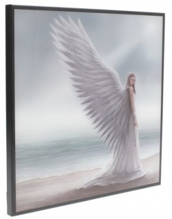 Picture of Spirit Guide Crystal Clear Angel Picture (Anne Stokes) NEW