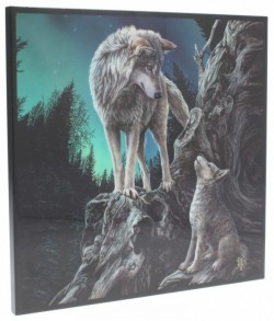 Picture of Guidance Crystal Clear Wolf Picture (Lisa Parker) NEW