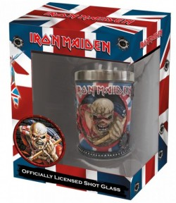 Picture of Iron Maiden Eddie Shot Glass Officially Licensed Merchandise