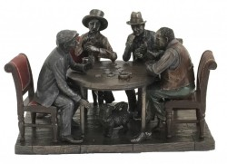 Picture of Poker Night Bronze Figurine
