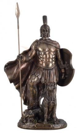 Picture of Odysseus and his dog Argos Bronze Statue 32 cm
