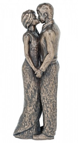 Picture of Romance Couple Bronze Figurine NEW