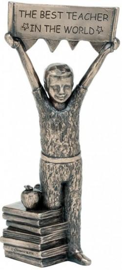 Picture of Best Teacher (Boy) Bronze Figurine