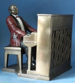 Picture of Piano Player Jazz Bronze Figurine 22.5cm SECOND MINOR DAMAGE