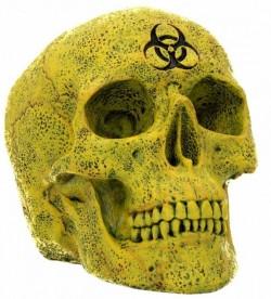 Picture of Biohazard Skull Ornament 18 cm