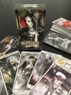 Picture of Malefic Time Tarot Cards by Luis Royo