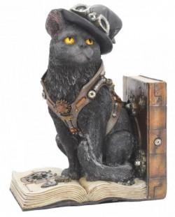 Picture of Steampunk Cat Bookend Figurine