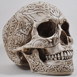 Picture of Celtic Skull Ornament