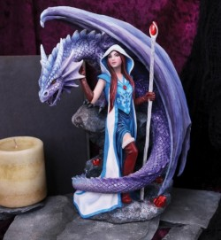 Picture of Dragon Mage Figurine (Anne Stokes)