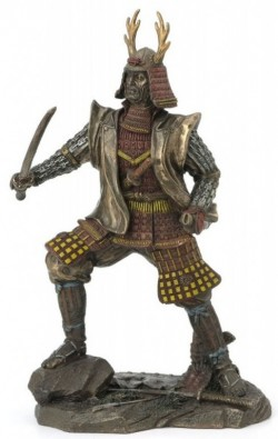 Picture of Samurai Warrior Bronze Figurine NEW RELEASE