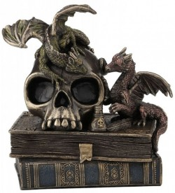 Picture of Dragons of Wisdom Bronze Figurine