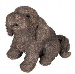 Picture of Frankie the Cockapoo Bronze Figurine (Frith) LARGE