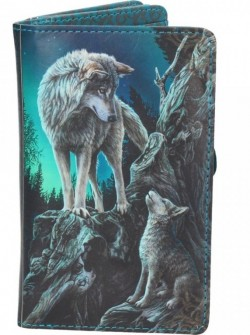 Picture of Guidance Wolf Purse (Lisa Parker) 14cm