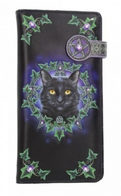 Picture of Charmed One Embossed Cat Purse (Lisa Parker) 18cm