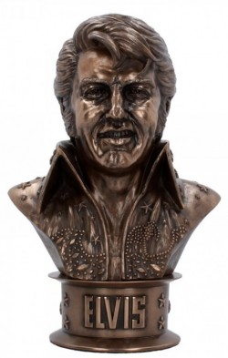 Picture of Elvis Bust Figurine 18cm