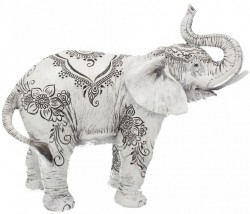 Picture of Henna Decorative Elephant Ornament 22cm