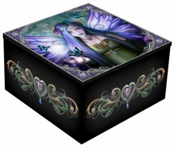 Picture of Mystic Aura Mirror Box (Anne Stokes) 5.5cm