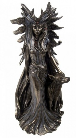 Picture of Hekate Bronze Figurine by Marc Potts 25 cm