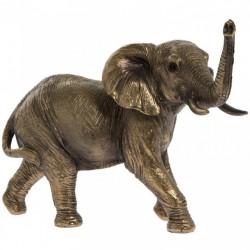 Picture of Elephant Bronze Figurine 17cm Leonardo Collection