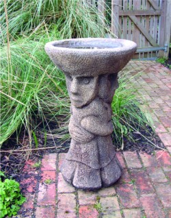 Picture of Aztec Birdbath