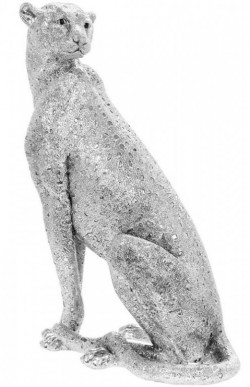 Picture of Silver Art Cheetah Statue