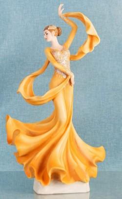 Picture of Ballroom Dancer Lady Figurine Juliana 35 cm
