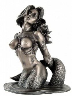 Picture of Mermaid Bronze Figurine Monte M Moore