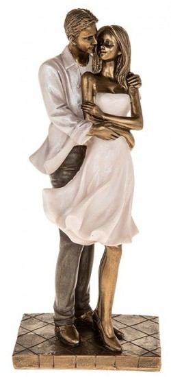 Picture of Amore Couple Standing Figurine Embrace