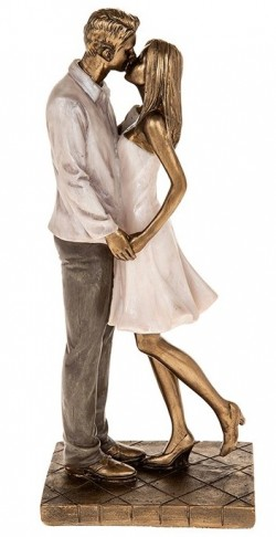 Picture of Amore Couple Standing Figurine Kiss